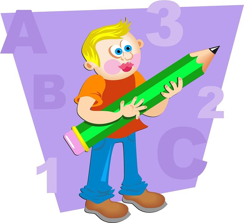 786x720 School Children Cartoon