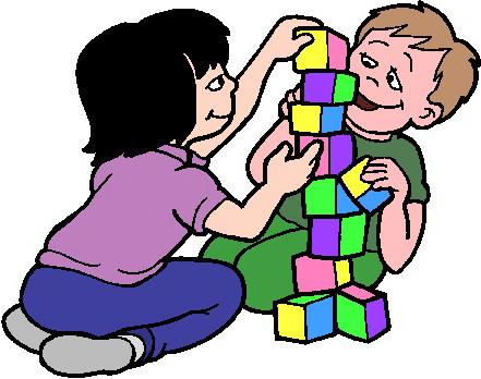 441x348 Image Children Playing Clip Art