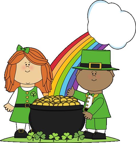 476x500 Saint Patrick's Day Children Clip Art
