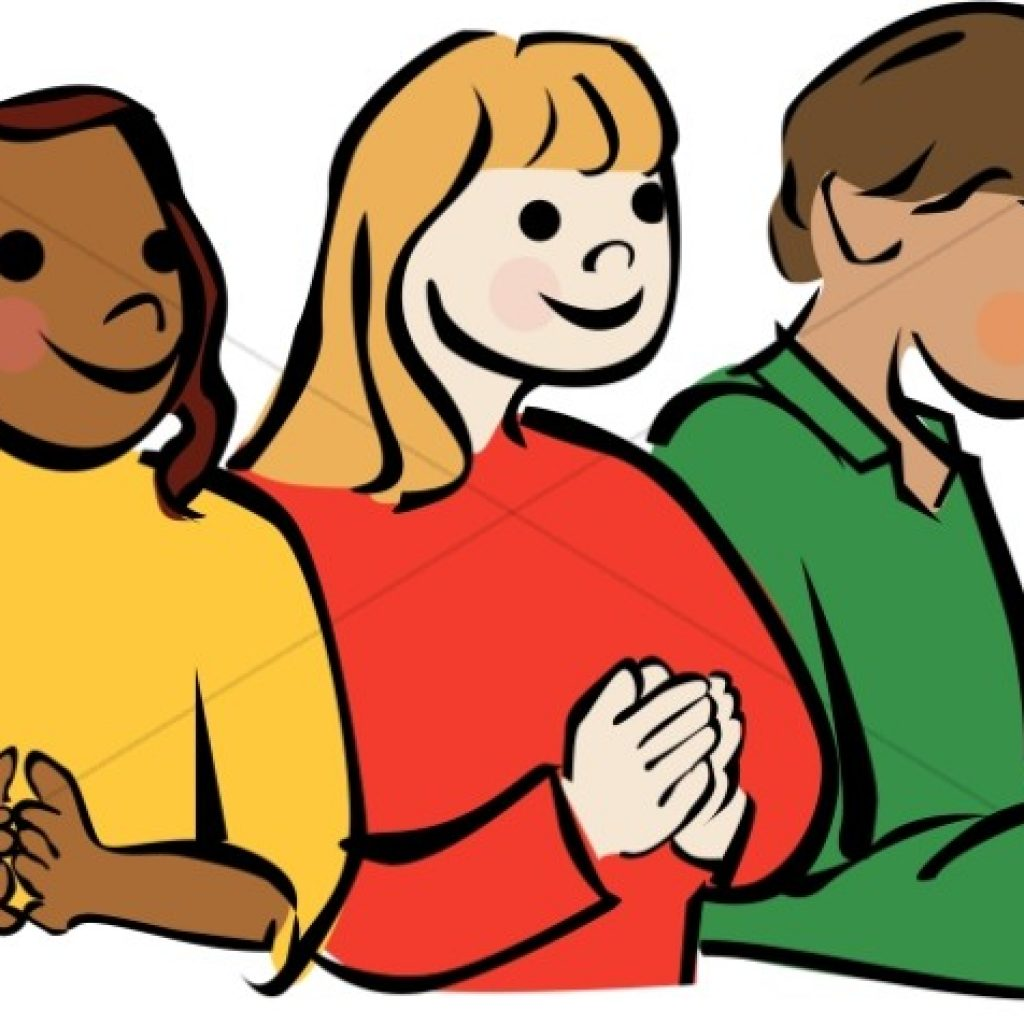 1024x1024 Child Praying Clipart Christian Children Church Kids Sharefaith