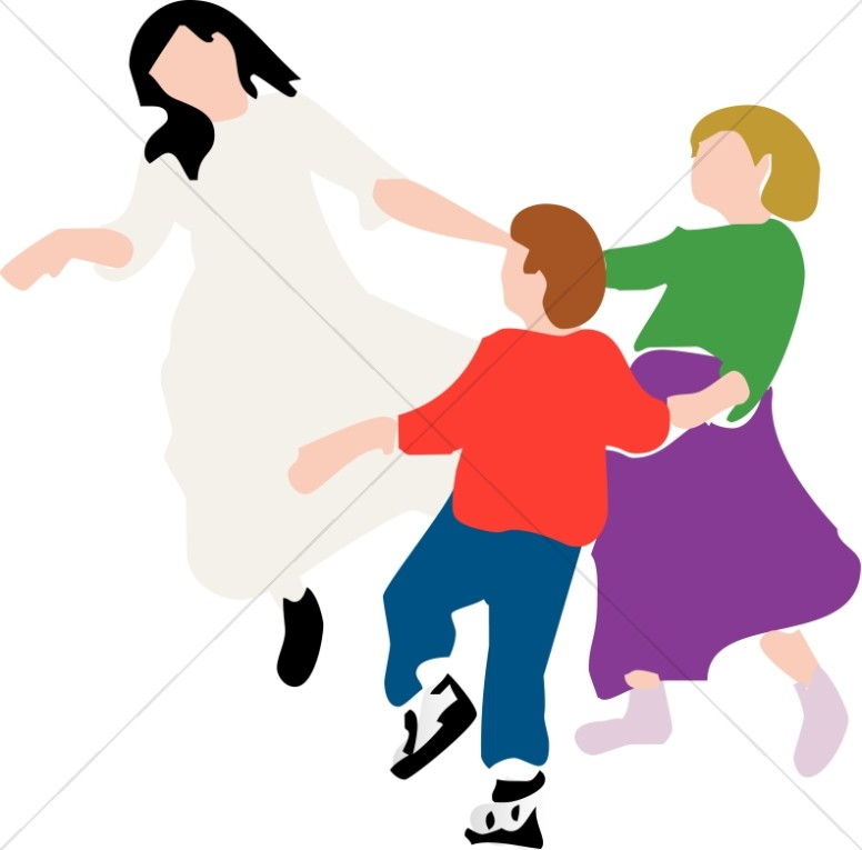 776x765 Circle Dance Youth Program Clipart
