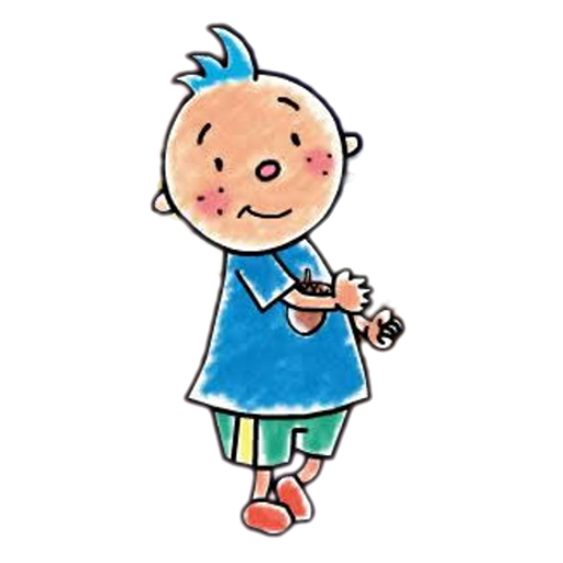512x512 Cartoon East Asian Rainy Season Fan Art Clip Art