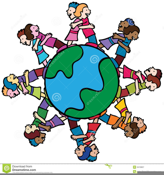 562x600 Free Clipart Of Children Helping Others Free Images