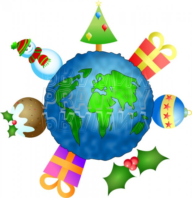621x640 Christmas Around The World Clipart 101 Clip Art