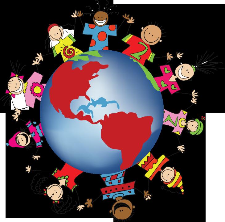 730x719 Clip Art Children Around The World Clipart Yyipcq