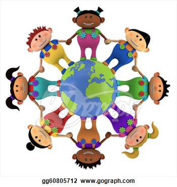 350x370 Collection Of Multicultural Kids Clipart High Quality, Free