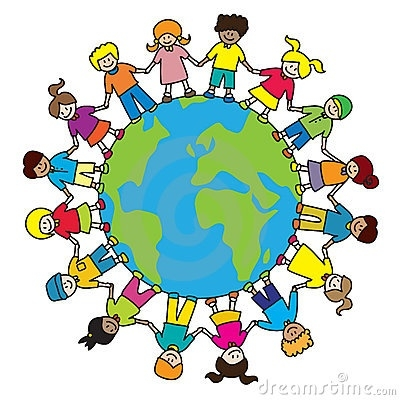 400x400 World Map Clipart For Kids Letters Example