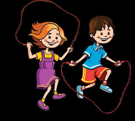 444x399 Play Clip Art Children
