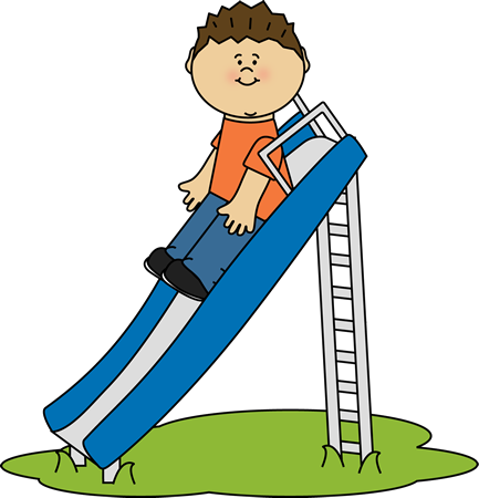 433x450 Slide Clipart Kid Playing On Slide Cliprt Kid Playing On