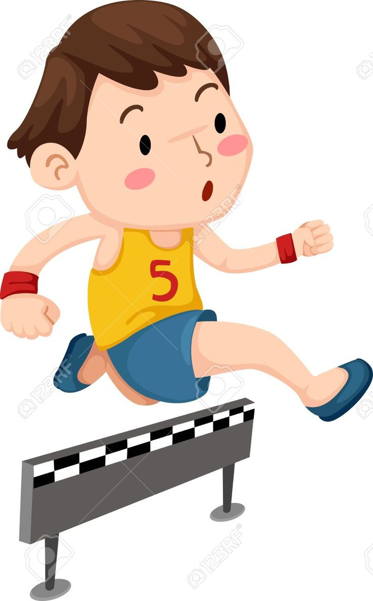 Children Running Clipart