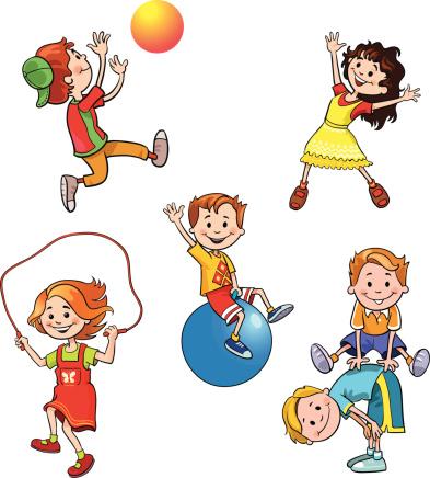 393x436 Healthy Kids Clip Art Free Clipart