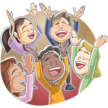 360x360 Christian Children Singing And Praising