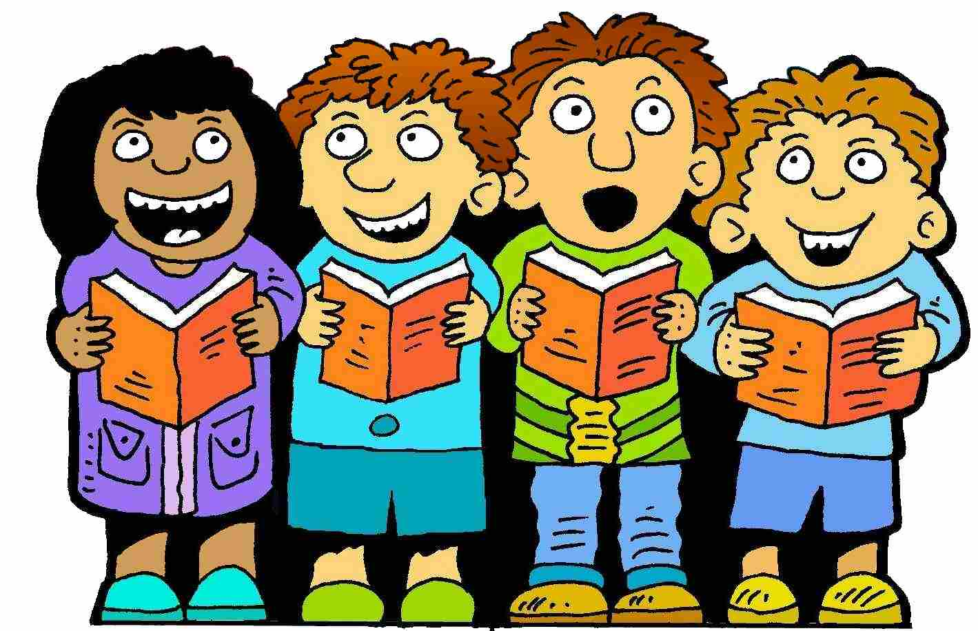 Children Singing Clipart at GetDrawings.com | Free for ...