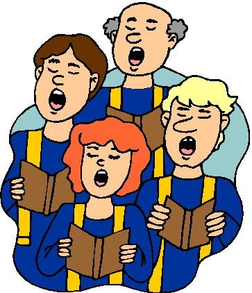 363x422 Clip Art Choir Clipart