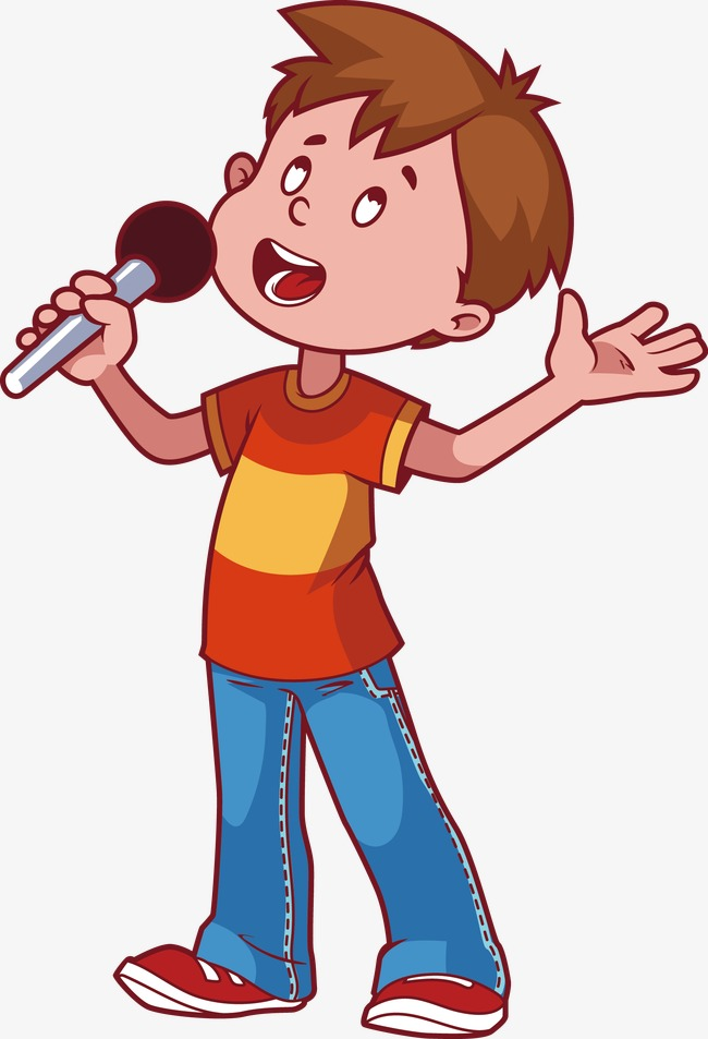 650x953 Little Boy Singing Png, Vectors, Psd, And Clipart For Free
