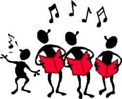 250x204 Singing Choir Clipart