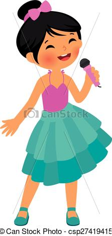 223x470 Child Singing Clipart 6 Clipart Station