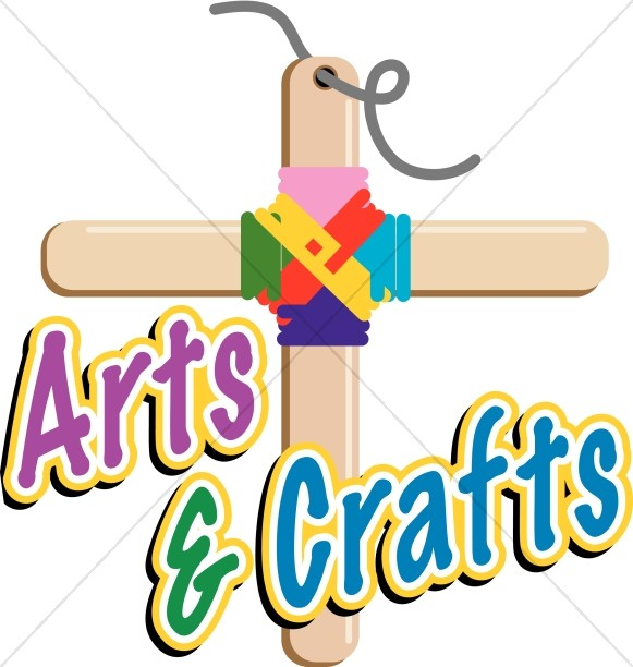 581x612 Arts And Crafts Cross Childrens Church Clipart