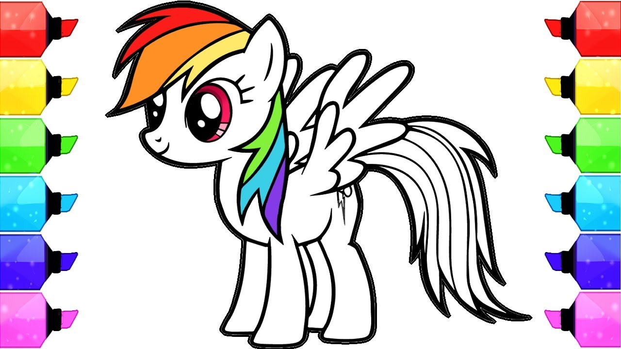 1280x720 My Little Pony Coloring Books Find Here