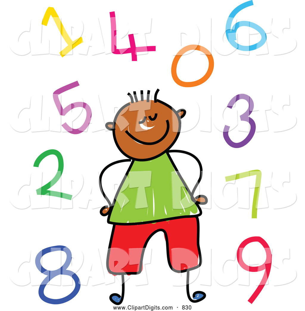 1024x1044 Royalty Free Childrens Art Stock Number Designs