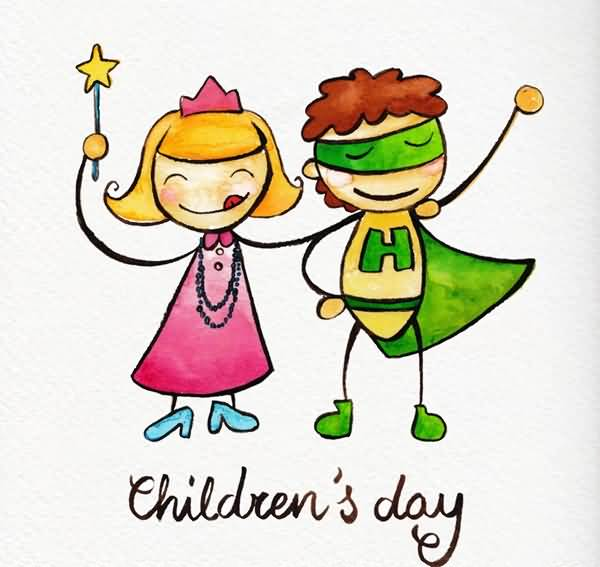 600x567 51 Happy Children's Day Greeting Pictures
