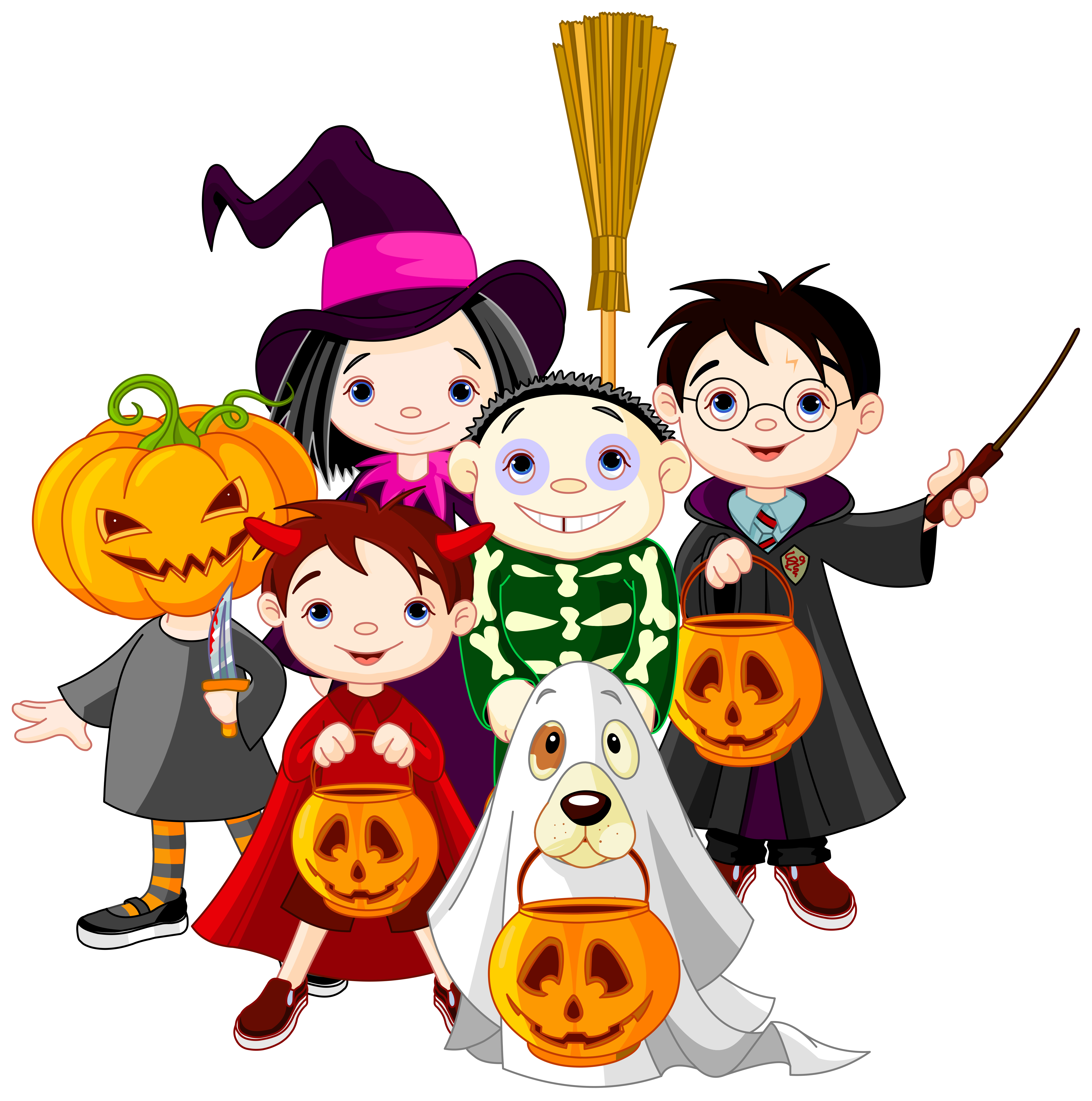 5068x5108 Collection Of Free Children's Halloween Clipart High Quality