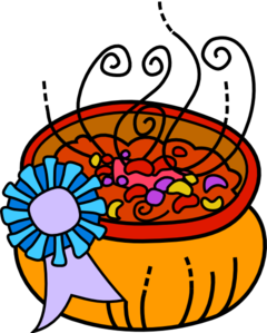 240x299 Award Winning Chili Clip Art