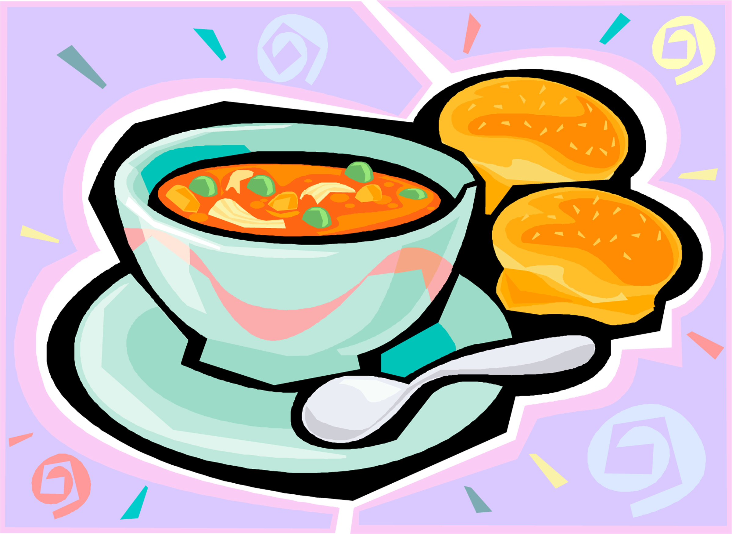 2400x1750 Bowl Clipart Chili Supper