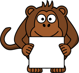 Chimp Clipart