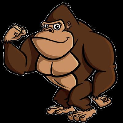 400x400 Brown Gorilla Pictures