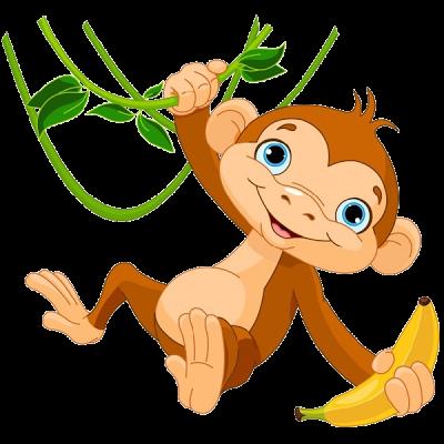 400x400 Clip Art Monkey Amp Look At Clip Art Monkey Clip Art Images
