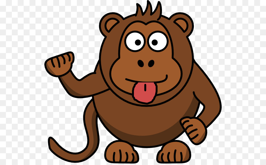 900x560 Drawing Monkey Clip Art