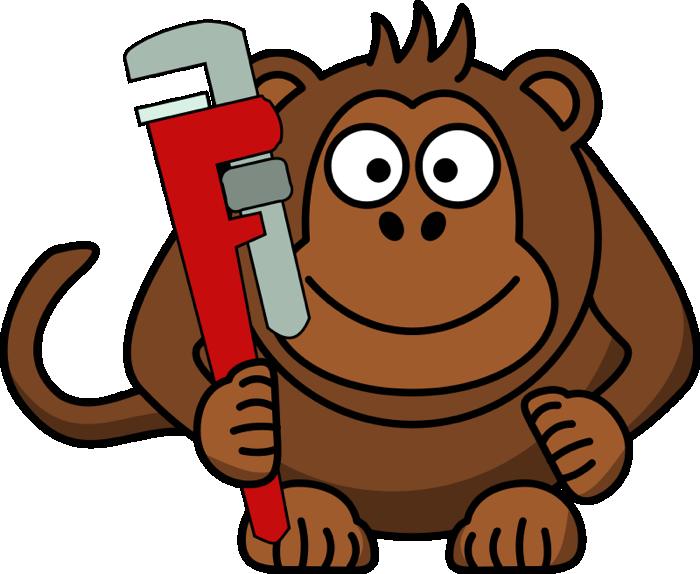 700x574 Free Monkey Clipart