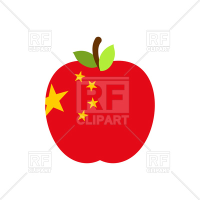 China Flag Clipart