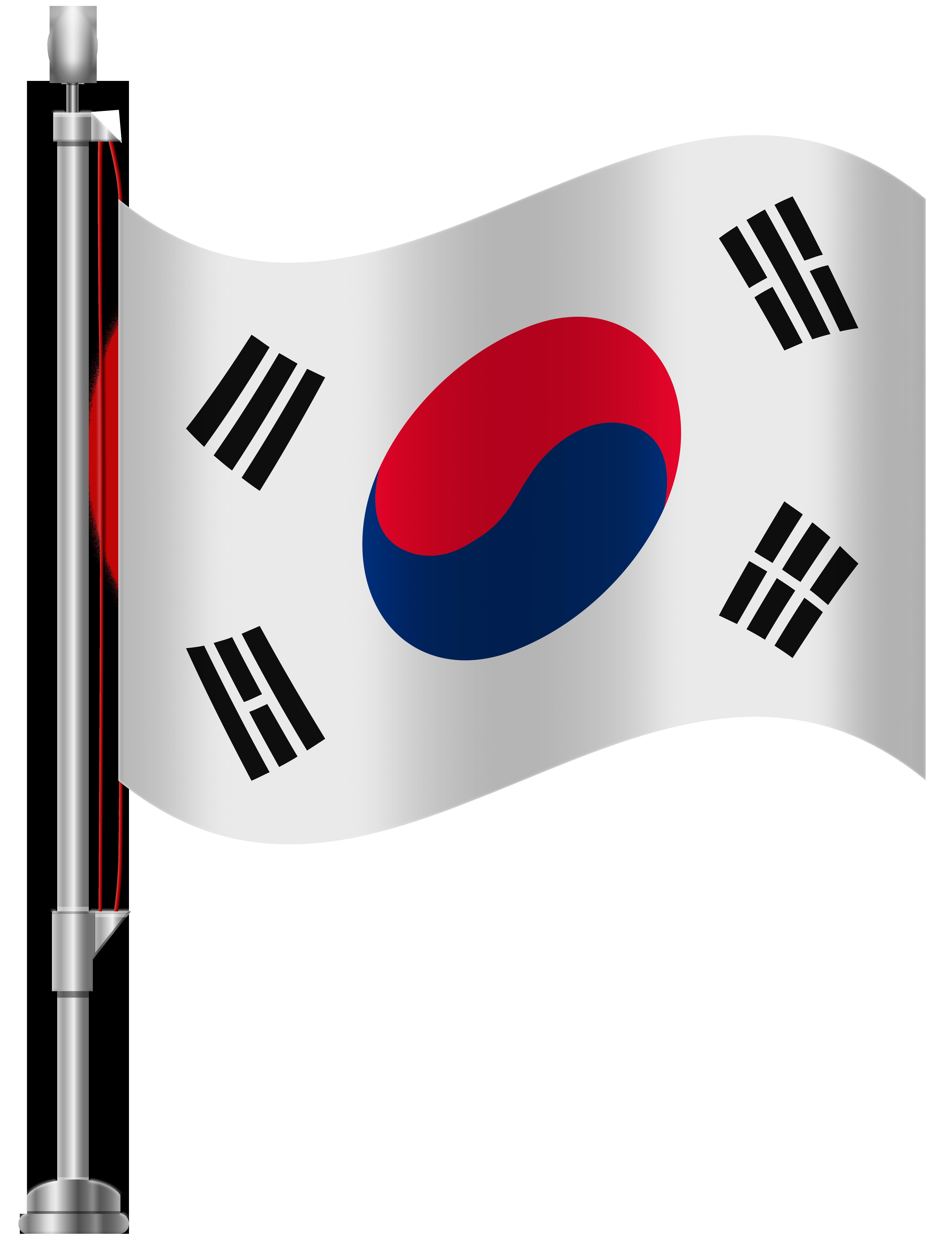 6141x8000 South Korea Flag Png Clip Art Png Pictures Clip