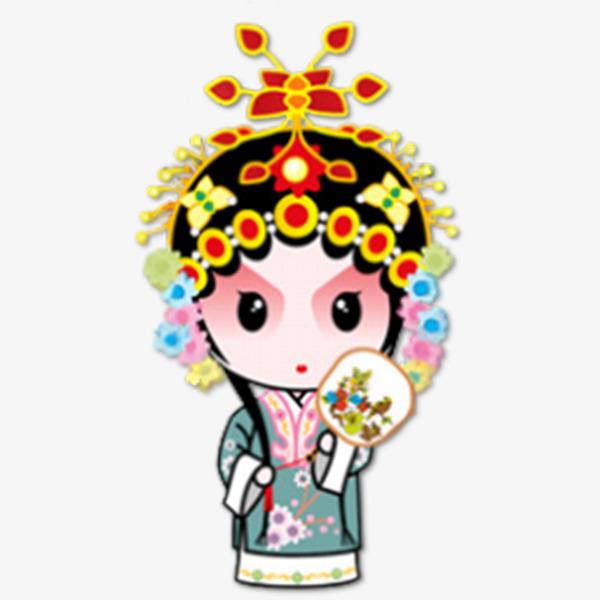 600x600 Chinese Opera Characters, Chinese Style, Tradition, Peking Opera
