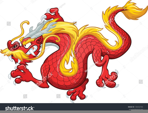 300x229 Chinese Dragon Vector Clipart Free Images
