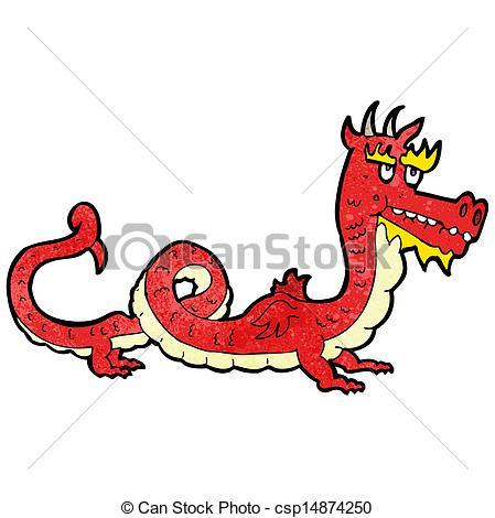 449x470 Cartoon Chinese Dragon Clipart Vector