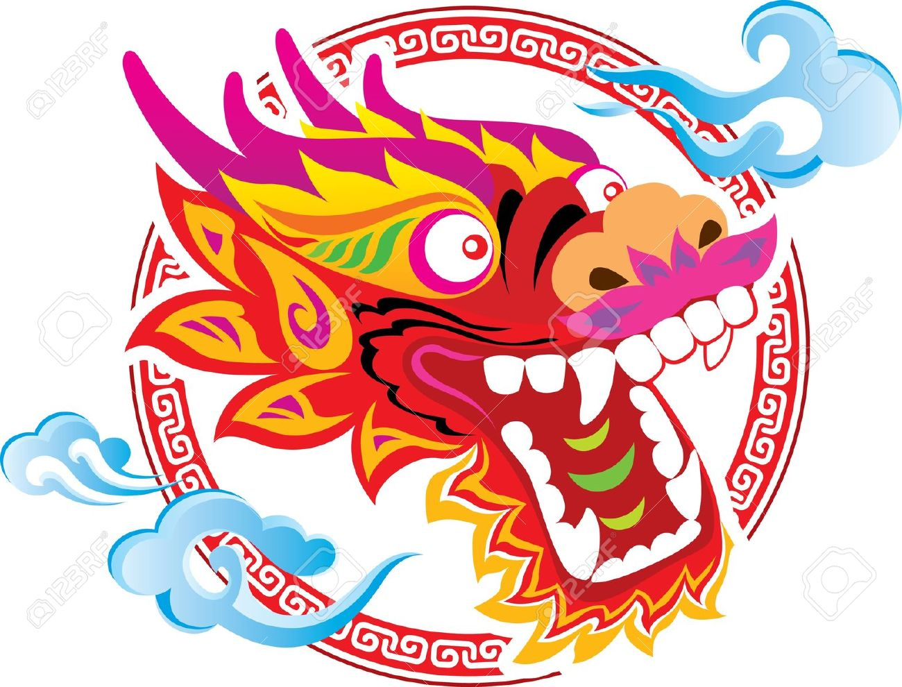 1300x990 Collection Of Chinese Dragon Clipart High Quality, Free