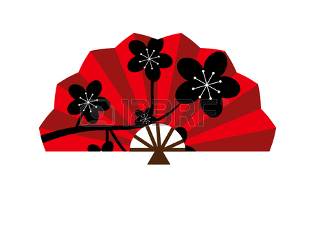 450x328 Chinese Fans Clipart