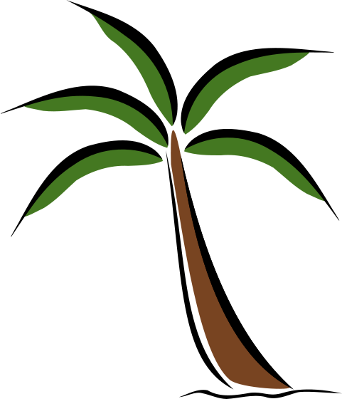 481x560 Chinese Fun Palm Tree Clipart, Explore Pictures