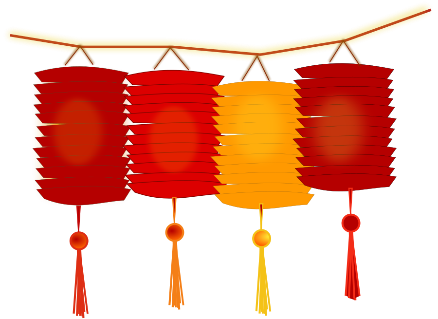 900x655 Collection Of Chinese Lantern Clipart Free High Quality