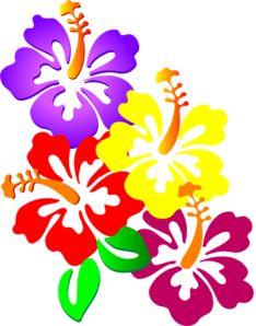 234x298 Hawaiian Flower Clip Art Tropical Plants Clip Art Vector Clip