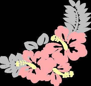 300x285 Hibiscus Nat Clip Art