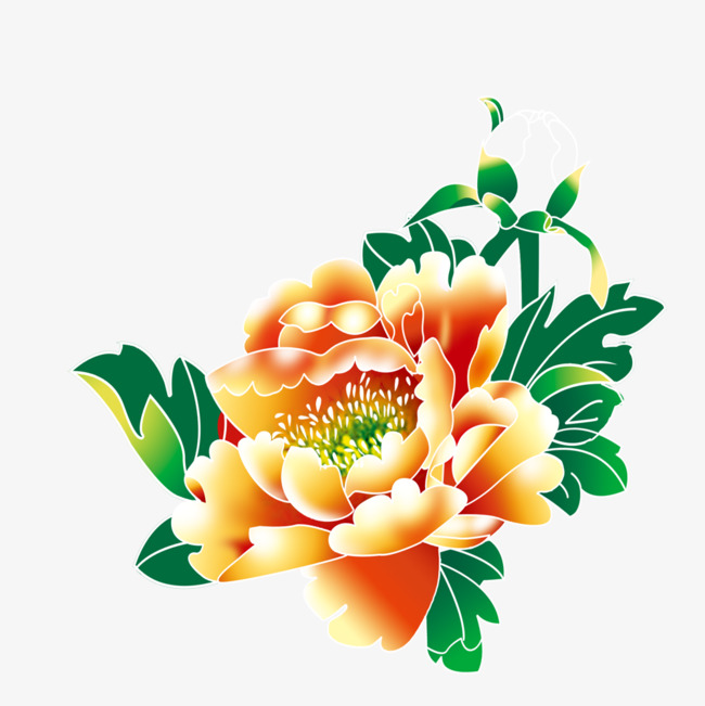 650x651 Peony Pattern, Peony, Traditional Chinese Painting, National