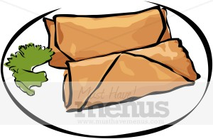 300x196 Bright And Modern Chinese Food Clipart Spring Roll Restaurant