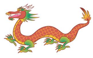 325x203 Chinese Dragon Clipart Chinese Writing Free Collection Download