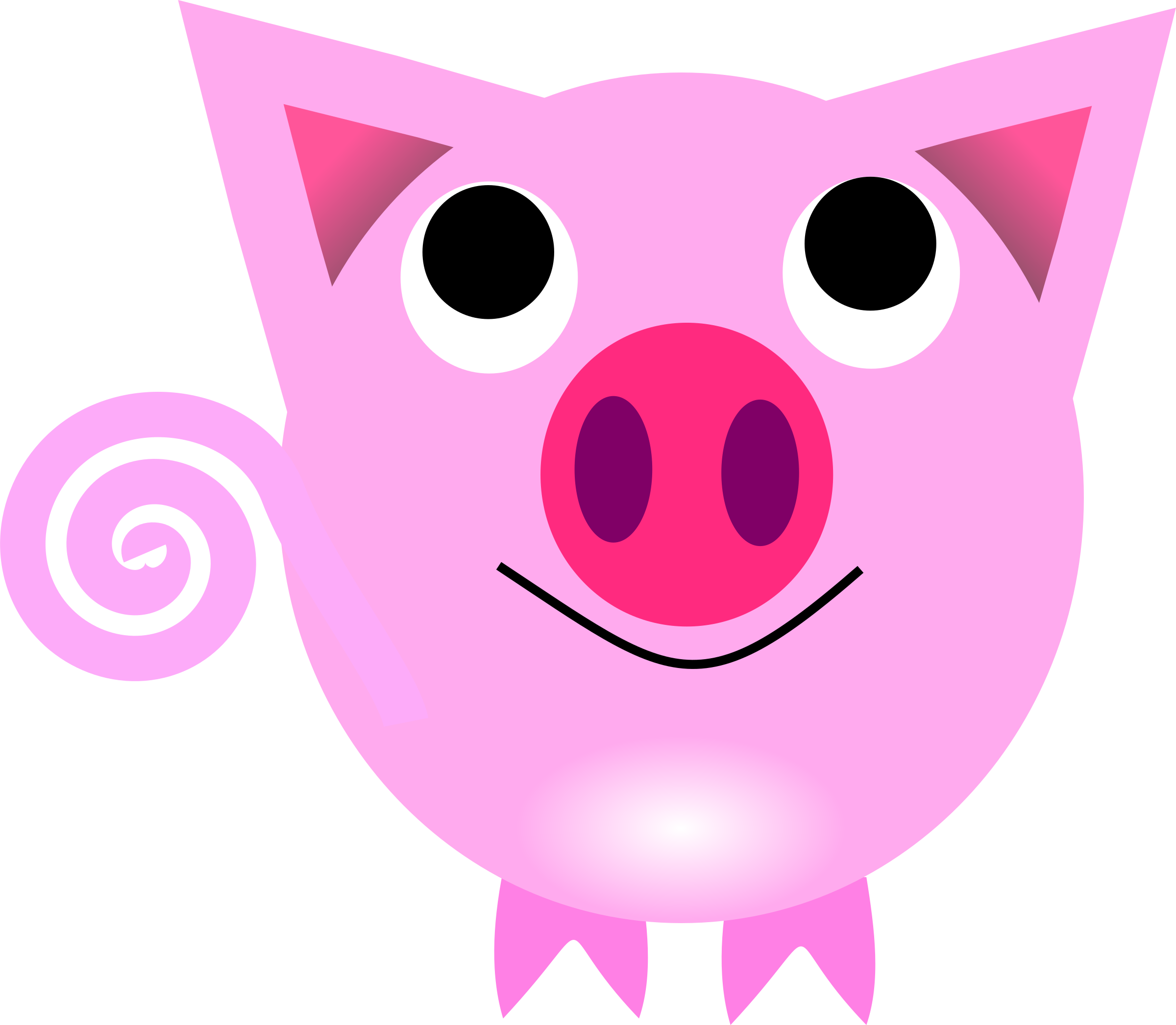 2400x2093 Chinese Zodiac Pig Icons Png