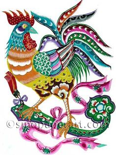 236x314 Rooster Artwork