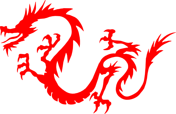 600x388 Clipart Chinese Dragon Dragon Red Clip Art